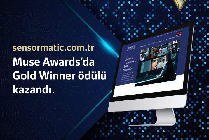 Sensormatic'in Yenilenen Web Sitesi  MUSE Creative Awards'ta Büyük Ödülün Sahibi Oldu
