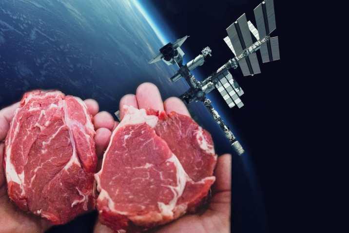 Uzayda 3D Yazıcı İle Biftek Üretildi