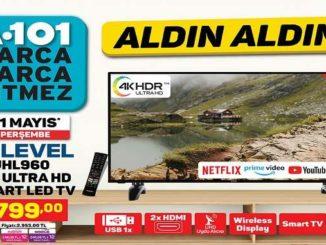 A101 Hi-Level 58UHL960 58″ Ultra HD Smart Led Tv Yorumları ve Özellikleri