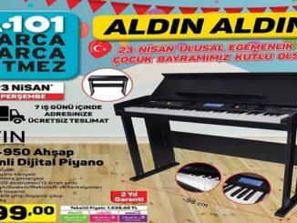 A101 JWIN JDP-950 Ahşap Kabinli Dijital Piyano Yorumları ve Özellikleri