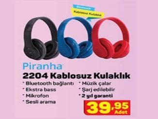 A101 Piranha 2204 Kablosuz Kulaklık Yorumları ve Özellikleri