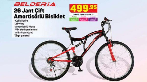A101 Belderia 26 Jant Çift Amortisörlü Bisiklet Yorumları ve Özellikleri
