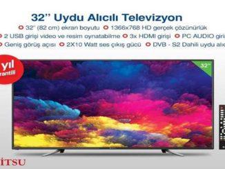 Bim Dijitsu 32″ HD Uydu Alıcılı Televizyon Yorumları ve Özellikleri