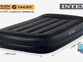 Bim Intex 220V Pompalı Yüksek Şişme Yatak Yorumları ve Özellikleri
