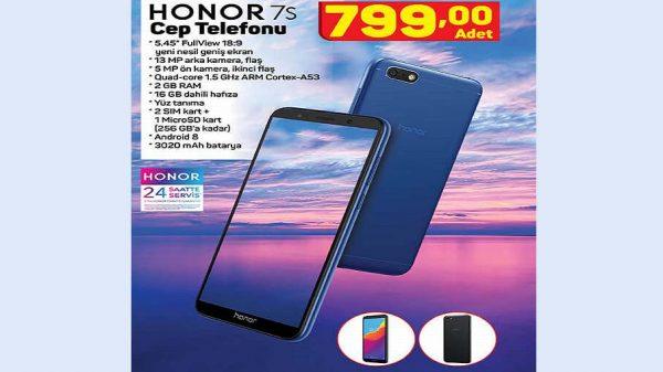 A101 Honor 7S Cep Telefonu Yorumları ve Özellikleri