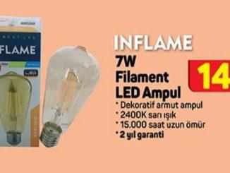 A101 Inflame 7W Filament Led Ampul Yorumları ve Özellikleri
