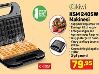A101 Kiwi KSM 2405W Waffle Makinesi Yorumları ve Özellikleri