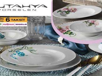 Bim Kütahya Porselen 18 Parça Dekorlu Yemek Takımı Yorumları ve Özellikleri
