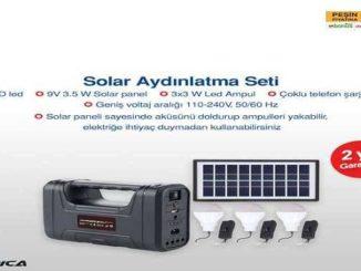 Bim Nordica Solar Aydınlatma Seti Yorumları ve Özellikleri