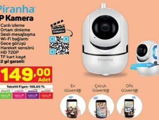 A101 Piranha IP Kamera Yorumları ve Özellikleri