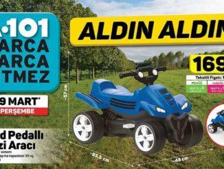 A101 Quad Pedallı Arazi Aracı Yorumları ve Özellikleri