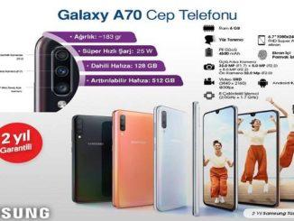 Bim Samsung Galaxy A70 Cep Telefonu Yorumları ve Özellikleri