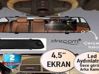 Bim Starcom Full HD Çift Kameralı Araç Dikiz Aynası Yorumları ve Özellikleri