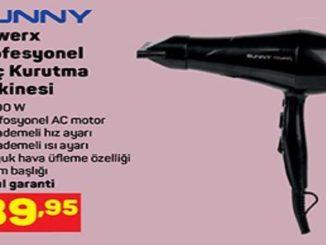A101 Sunny Powerx Profesyonel Saç Kurutma Makinesi Yorumları ve Özellikleri
