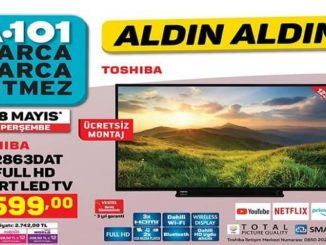 A101 Toshiba 49L2863DAT 49″ Full HD Smart Led Tv Yorumları ve Özellikleri